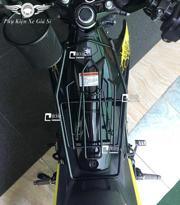 Baga Giữa Raider Fi, Satria 10 Ly Sơn Tĩnh Điện Đen MS3347