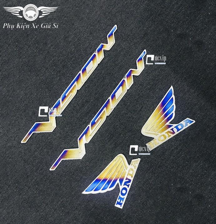 Combo 2 Tem Chữ Vision Và Logo Cánh Chim Lớn Titan MS3358