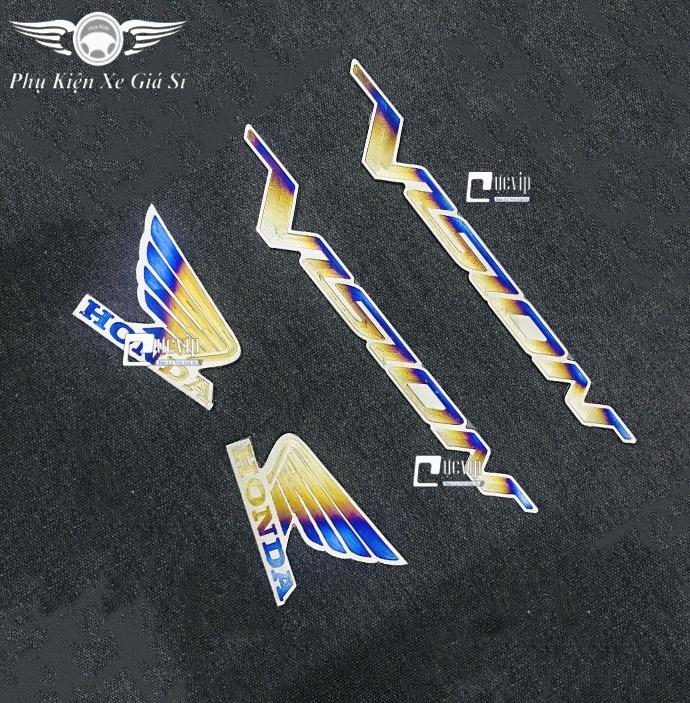 Combo 2 Tem Chữ Vario 150 Và Logo Cánh Chim Lớn Titan MS3359