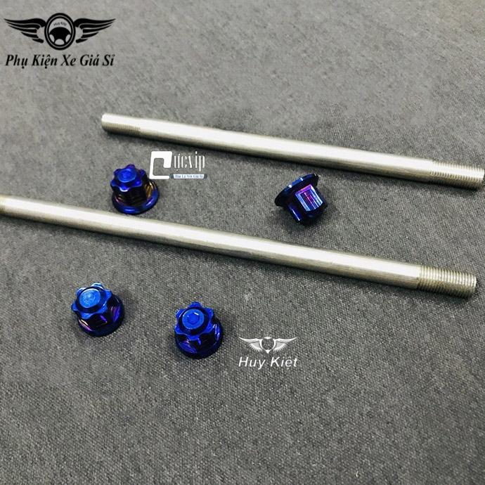 Cốt Trục Bánh Xe Trước Và Sau Kèm Tán Salaya Titan Cho Satria Fi, Raider Fi MS3418