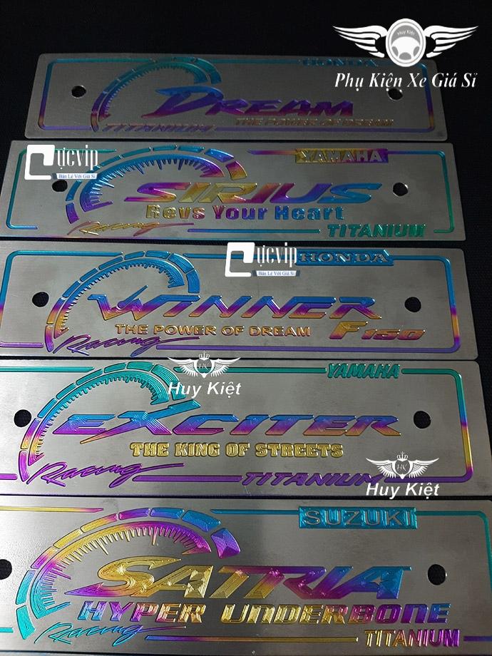 Bảng Tên Titan Vario, Raider, Satria, Sonic, Sirius, Winner, Exciter,Wave, Dream, MX King, Luvias MS3501
