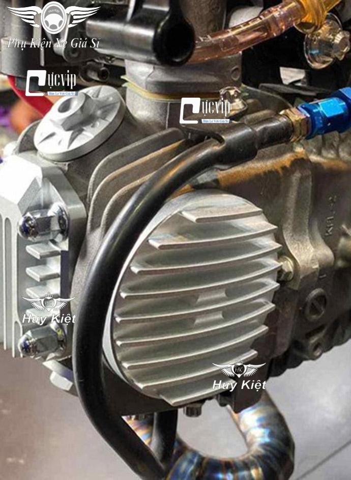 Bô Nắp Đầu Bò Wave, Dream Nhôm CNC Có Thông Hơi MS3506