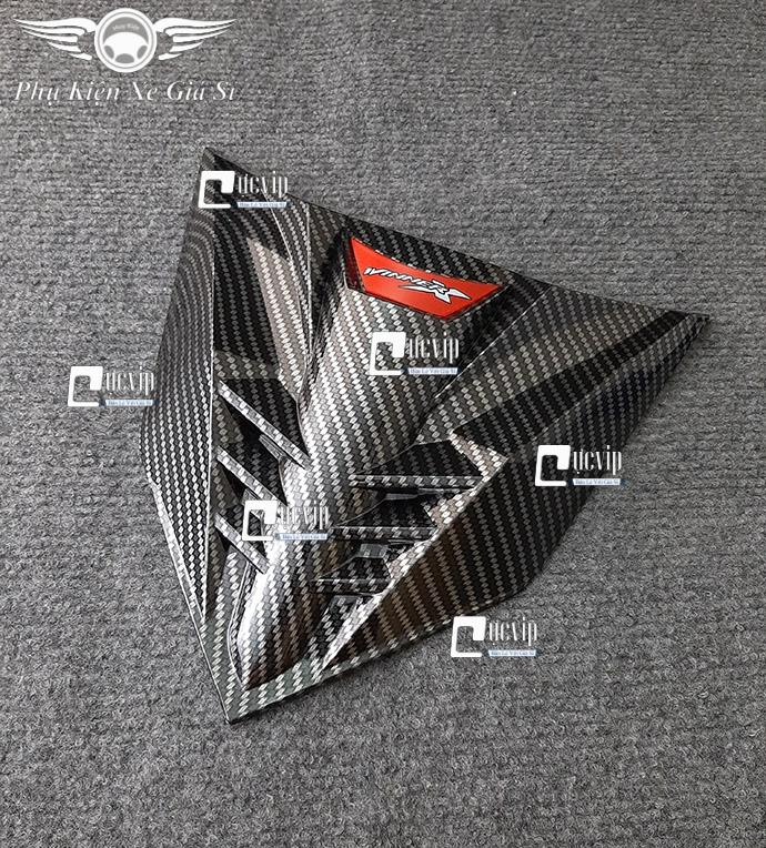 Ốp Mặt Nạ (Chỉ Mũi Trên) Winner X Sơn Carbon MS3534