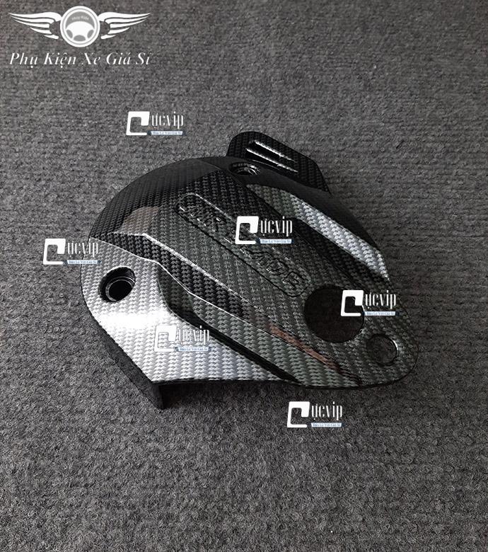 Ốp Lóc Máy Trước Xe AirBlade 2013 - 2015 Sơn Carbon MS3535