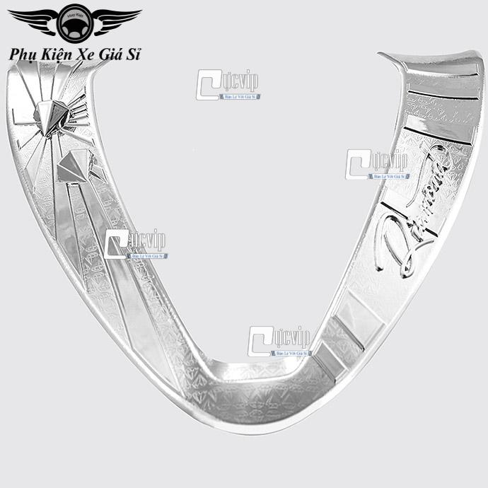 Ốp Mặt Nạ Lớn SH Mode 2020 Xi Inox, Mạ Crom MS3544