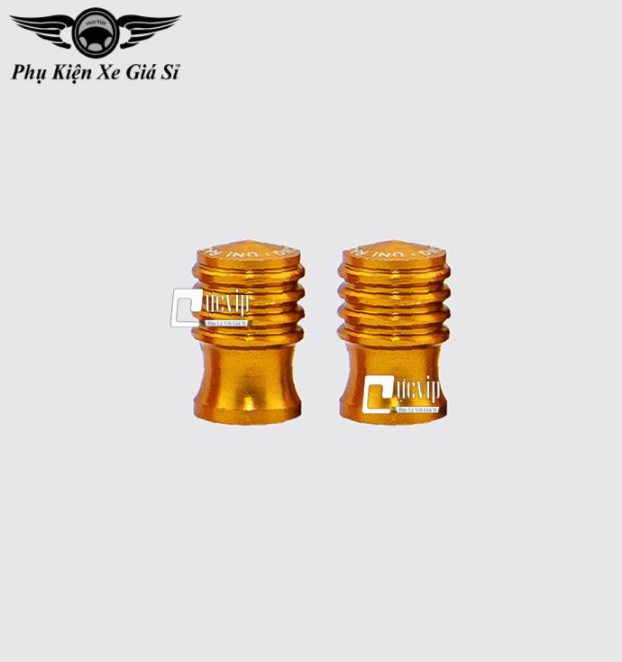 Bộ 2 Nắp Chụp Van Vòi Nhôm CNC K9 Gắn Mọi Loại Xe MS3545