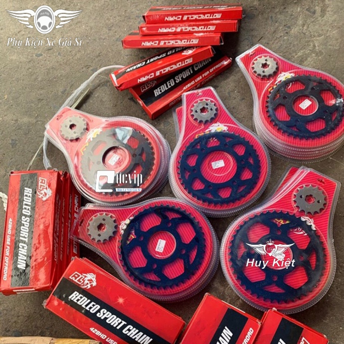 Nhông Sên Đĩa RedLeo Wave S110, Future 125, RSX 110, Wave Blade 110, Wave A110 MS3554