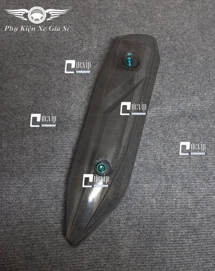 Ốp Pô Trong Suốt Vision 2014 - 2020 Kèm 2 Ốc Titan GR5 MS3560