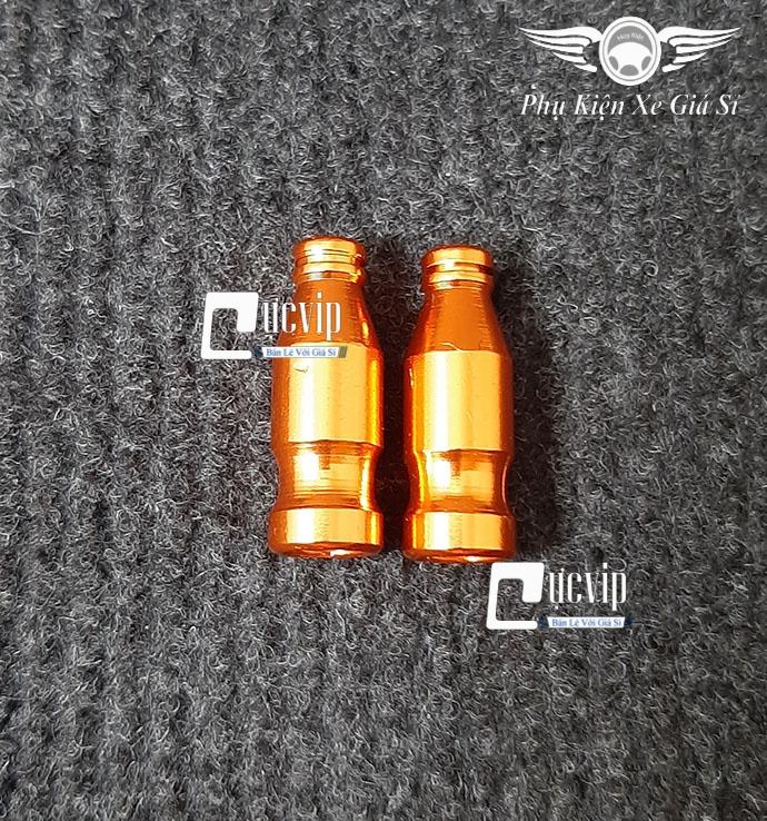Cặp Van Vòi Nhôm CNC Kiểu Chai Nước MS3045