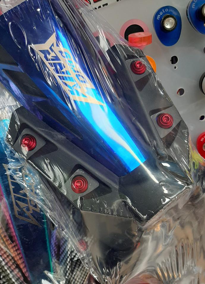 Bộ Dè Sau Exciter 150 + Đuôi Đèn Titan + 4 Ốc Kiểu Cao Cấp MS3085
