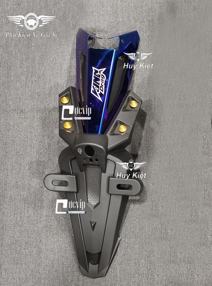 Bộ Dè Sau Exciter 150 + Đuôi Đèn Titan + 4 Ốc Xi Vàng MS3085