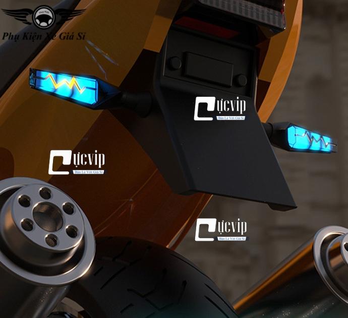 Xi Nhan Độ R15, MSX, Vario 2018-2020, Exciter 150, Winner X Kiểu Tia Chớp MS3129