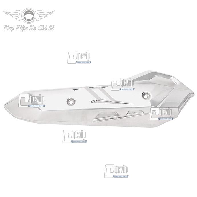 Ốp Pô Inox Xe AirBlade 2020 (2013 - 2020), Vario 2015 - 2017 MS2472