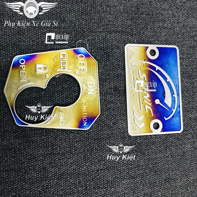 Combo Tem Dán Ổ Khóa Và Nắp Dầu Sonic Titan MS3572