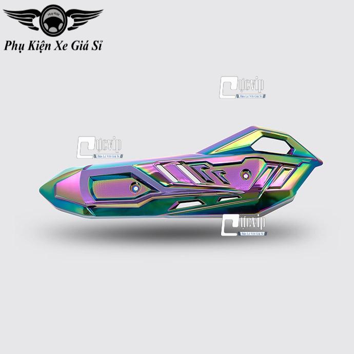 Ốp Pô Xe Airblade 2020 (2013 - 2020) Nano Titan 7 Màu MS3582