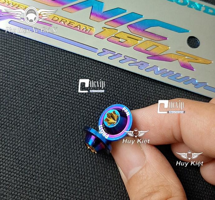Bảng Tên Sonic Titan (Mẫu Titan Khò) Kèm 2 Ốc ProTi MS3597
