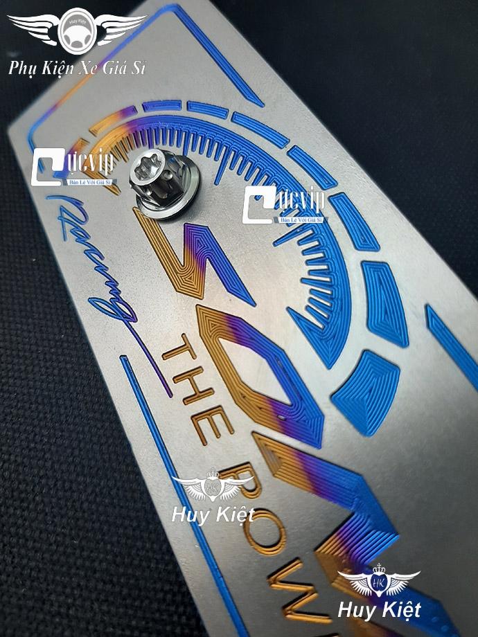 Bảng Tên Sonic Titan (Mẫu Titan Khò) Kèm 2 Ốc Salaya MS3598