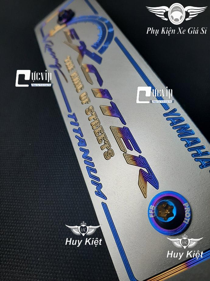 Bảng Tên Exciter Titan (Mẫu Titan Khò) Kèm 2 Ốc ProTi MS3614