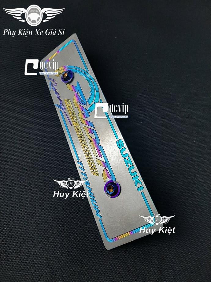 Bảng Tên Raider Titan (Mẫu Titan Điện Phân) Kèm 2 Ốc ProTi MS3664