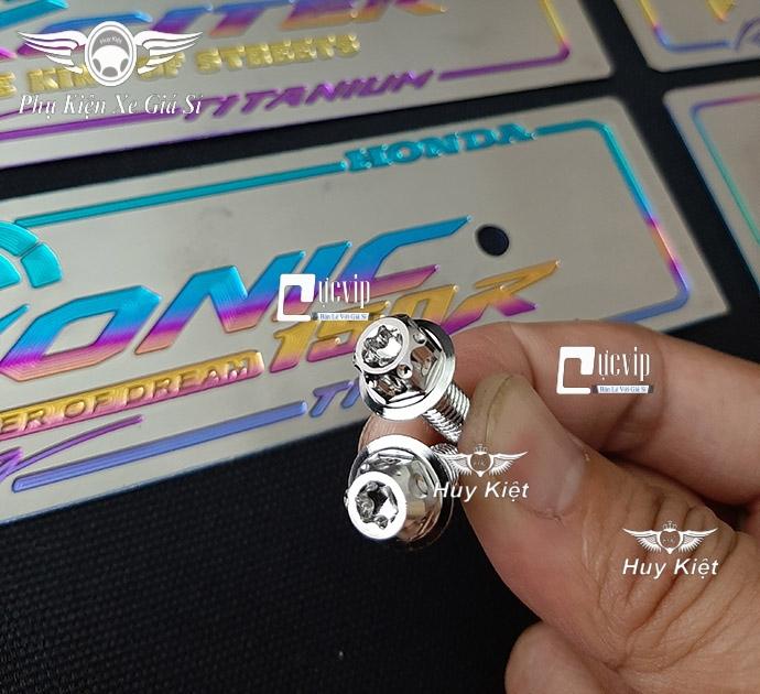 Bảng Tên Raider Titan (Mẫu Titan Khò) Kèm 2 Ốc Salaya MS3669