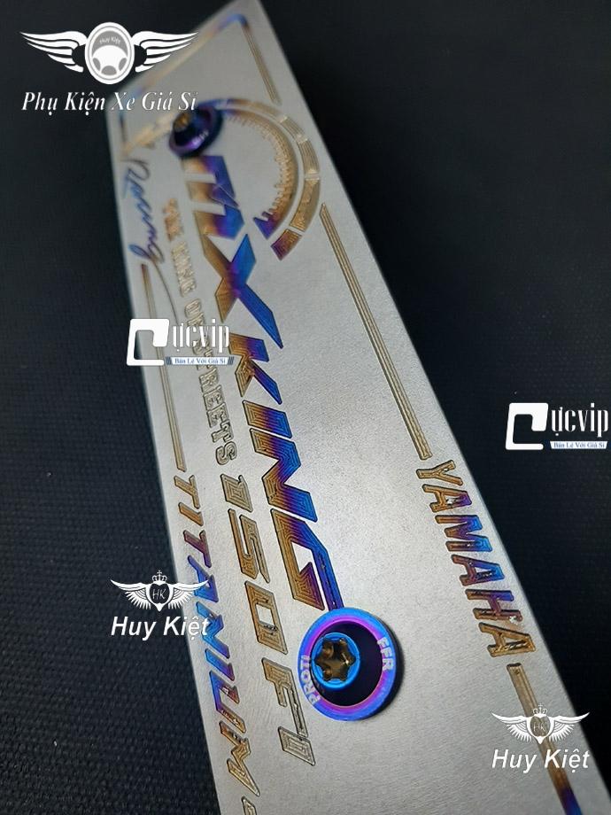 Bảng Tên MX King Titan (Mẫu Titan Khò) Kèm 2 Ốc ProTi MS3683