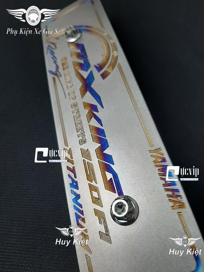 Bảng Tên MX King Titan (Mẫu Titan Khò) Kèm 2 Ốc Salaya MS3684