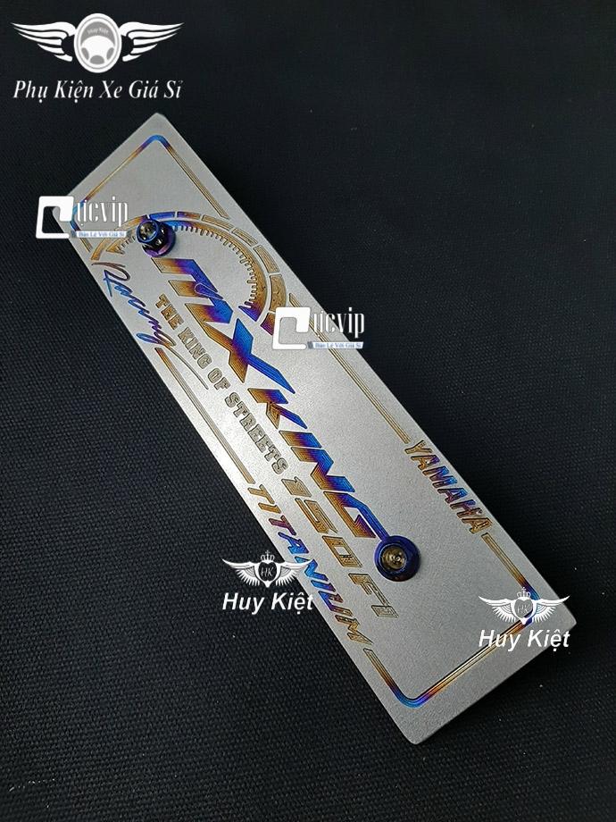Bảng Tên MX King Titan (Mẫu Titan Khò) Kèm 2 Ốc Vương Miện MS3686