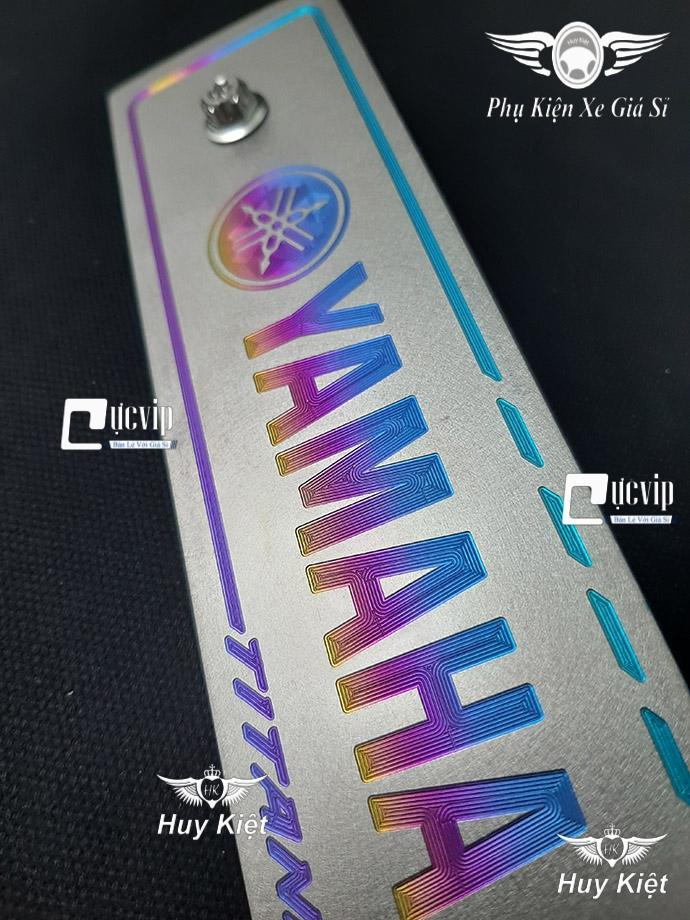 Bảng Tên Yamaha Titan Kèm 2 Ốc Salaya MS3696