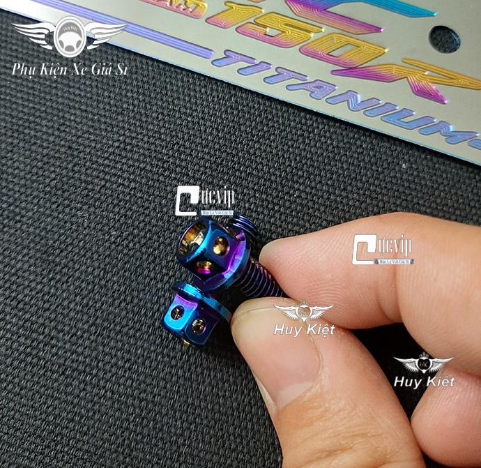 Bảng Tên Yamaha Titan Kèm 2 Ốc Vương Miện MS3698