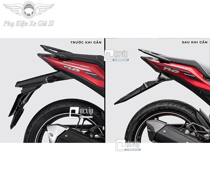 Dè Sau Exciter 2021, Exciter 155cc Carbon Kèm Đèn Xi Nhan Malaysia MS3972