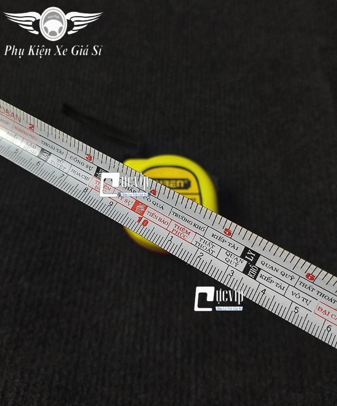 Thước Cuộn Lỗ Ban 5m Phong Thủy MS3747