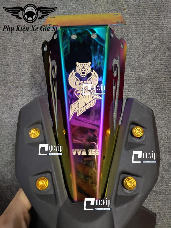 Bộ Dè Sau Exciter 155, Exciter 2021 K2 + Đuôi Đèn Xi Titan + 4 Ốc Kiểu MS4070