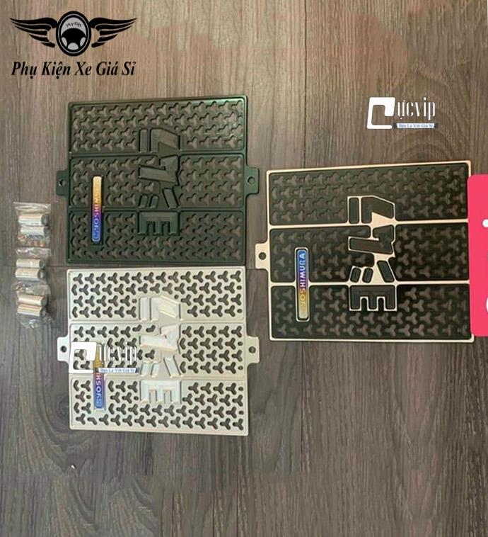 Che Kết Nước Nhôm CNC Gắn Xe Satria, Raider + Logo Yoshimura Titan MS4074
