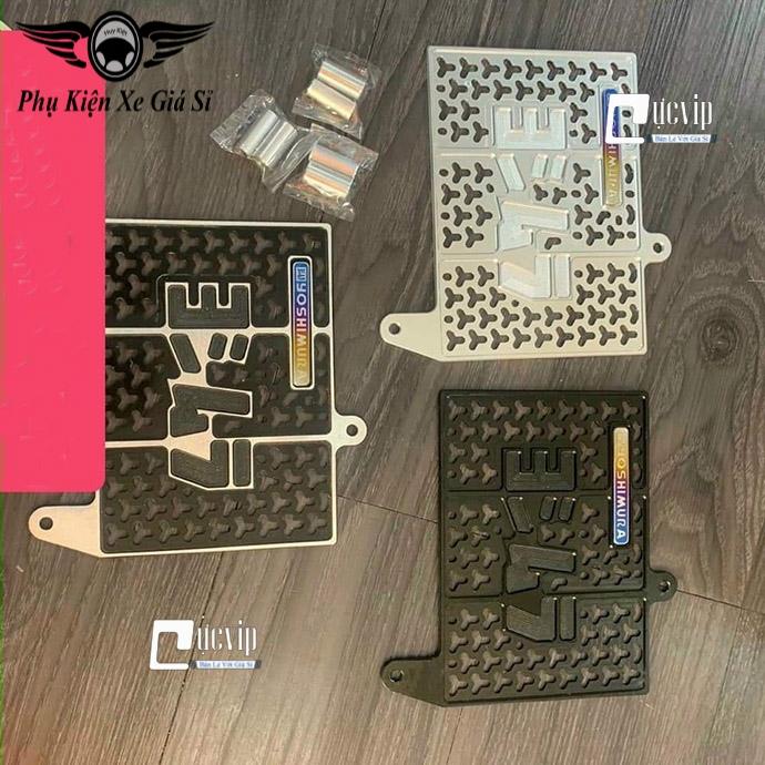 Che Kết Nước Nhôm CNC Gắn Xe Winner, Winner X + Logo Yoshimura Titan MS4076