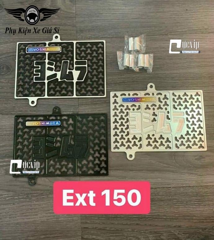 Che Kết Nước Nhôm CNC Gắn Xe Exciter 150 (2015 - 2020) + Logo Yoshimura Titan MS4077