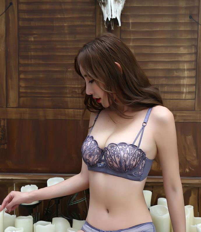 Áo Ngực Phụ Nữ Cao Cấp MS1276 Tím