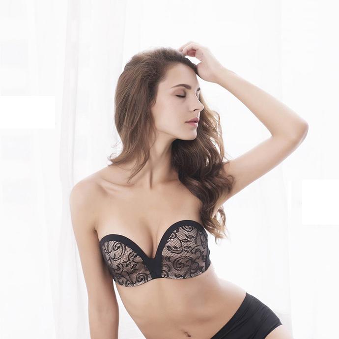 Áo Ngực Nữ Đẹp Nhất Không Dây MS1318 Đen