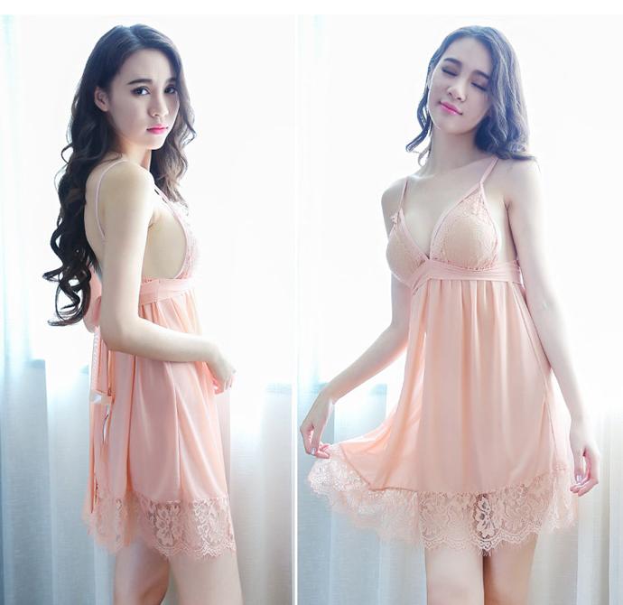 Đầm Ngủ Voan Mỏng MS1070