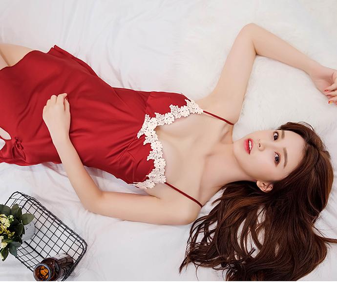 Áo Ngủ Gợi Cảm MS1075 Đỏ