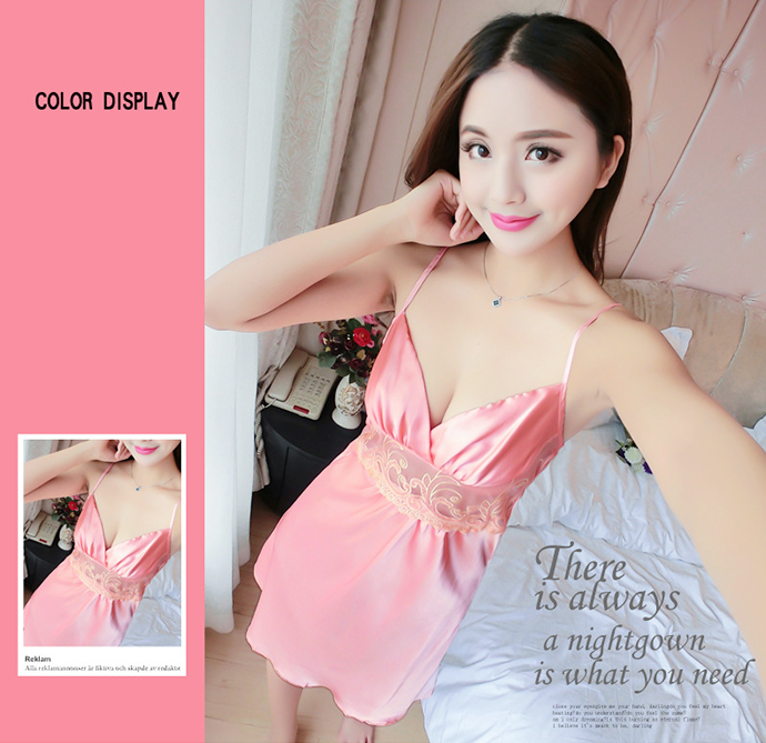 Váy Ngủ Đẹp Gợi Cảm MS1077 Hồng