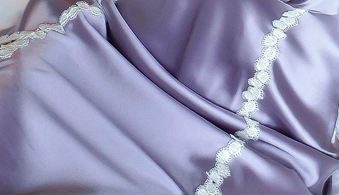 Áo Ngủ Quyến Rũ (Có Mút Ngực) MS1083 Tím