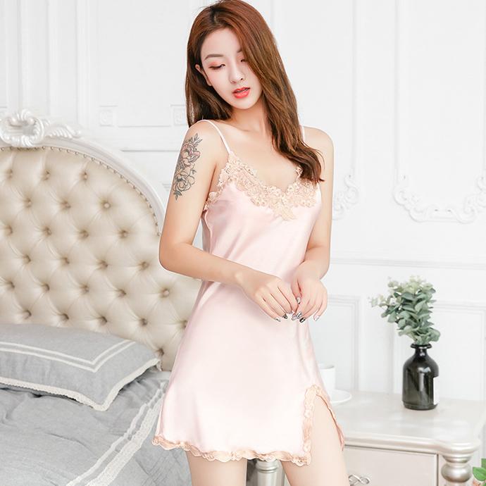 Váy Ngủ Gợi Cảm Nhất MS1085 Hồng