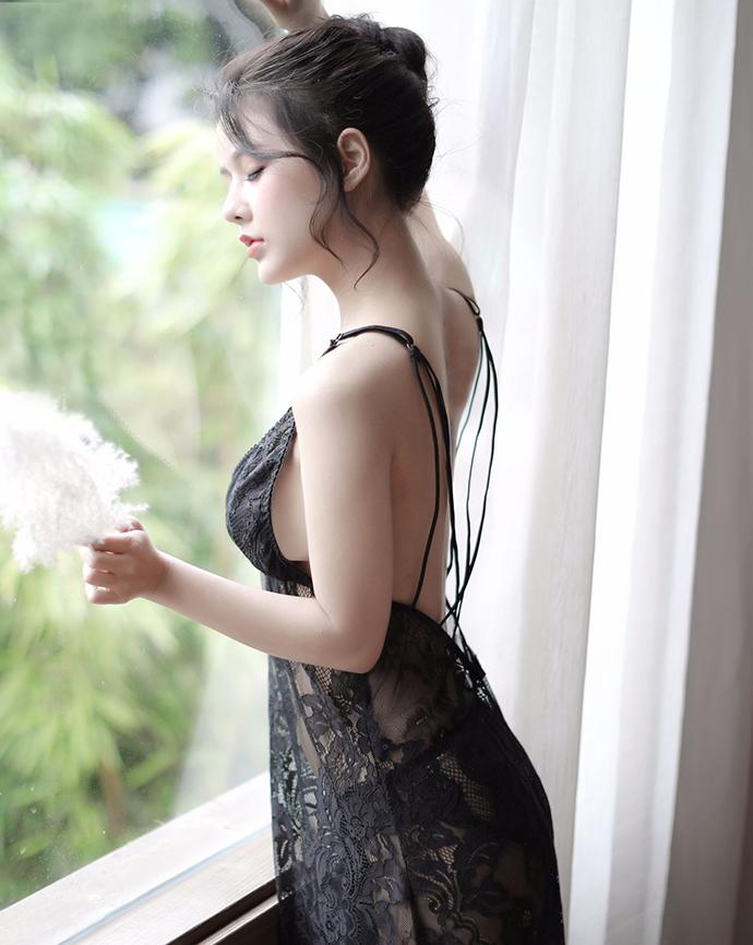 Váy Ngủ Mỏng Khiêu Gợi MS1107