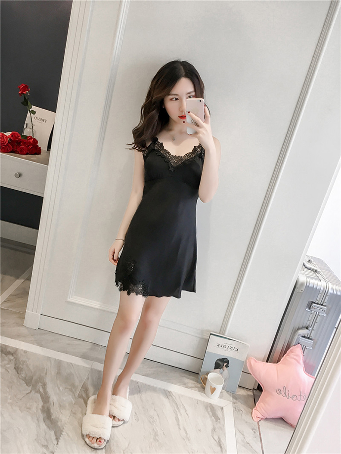 Váy Quyến Rũ MS1108 Đen