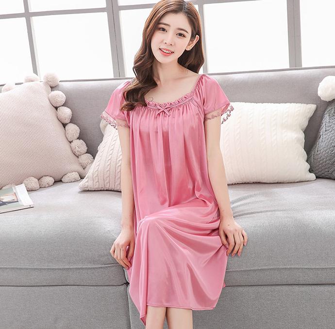 Váy Đẹp Quyến Rũ MS1115 Hồng Nho