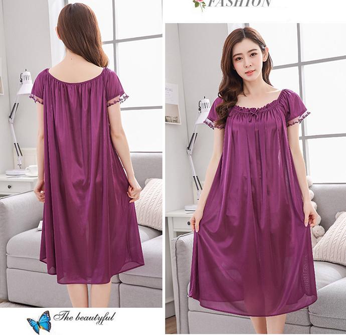 Váy Đẹp Quyến Rũ MS1115 Tím