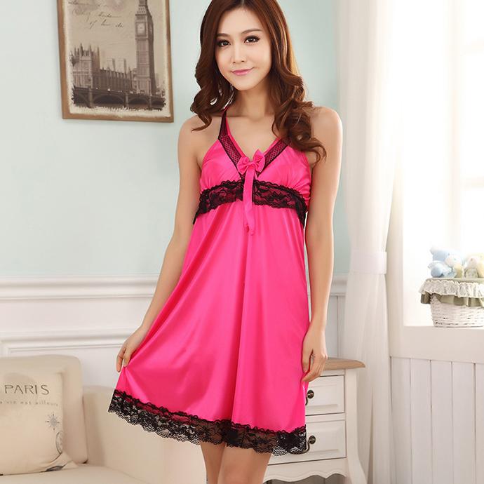 Váy Ngủ 2 Dây Dễ Thương MS1116