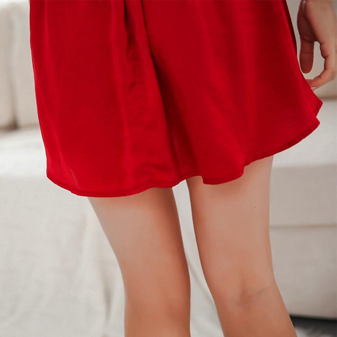 Váy Ngủ Đẹp Gợi Cảm Cao Cấp MS1306 Đỏ