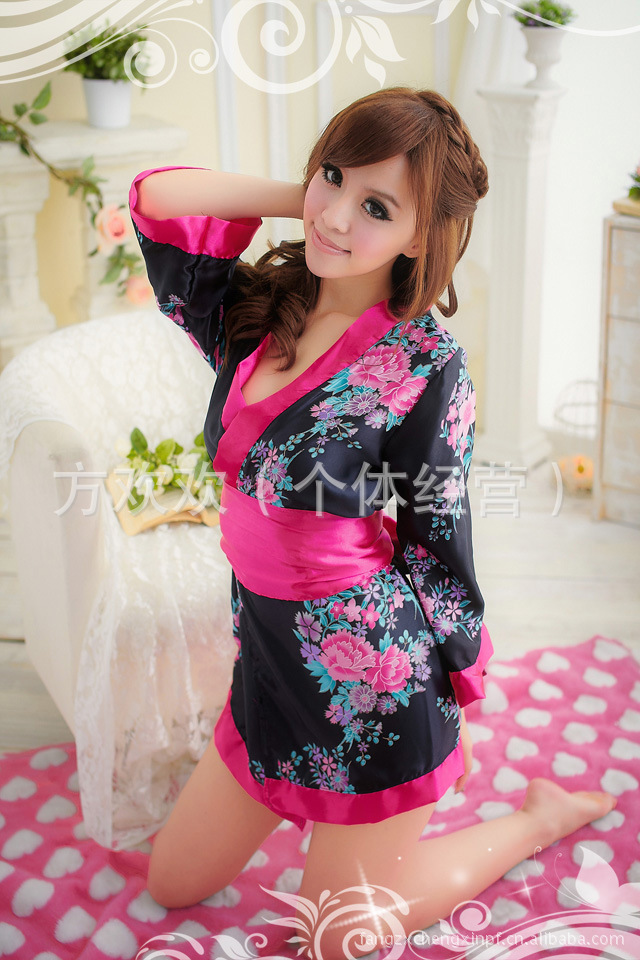 Đầm Ngủ Sexy Kimono