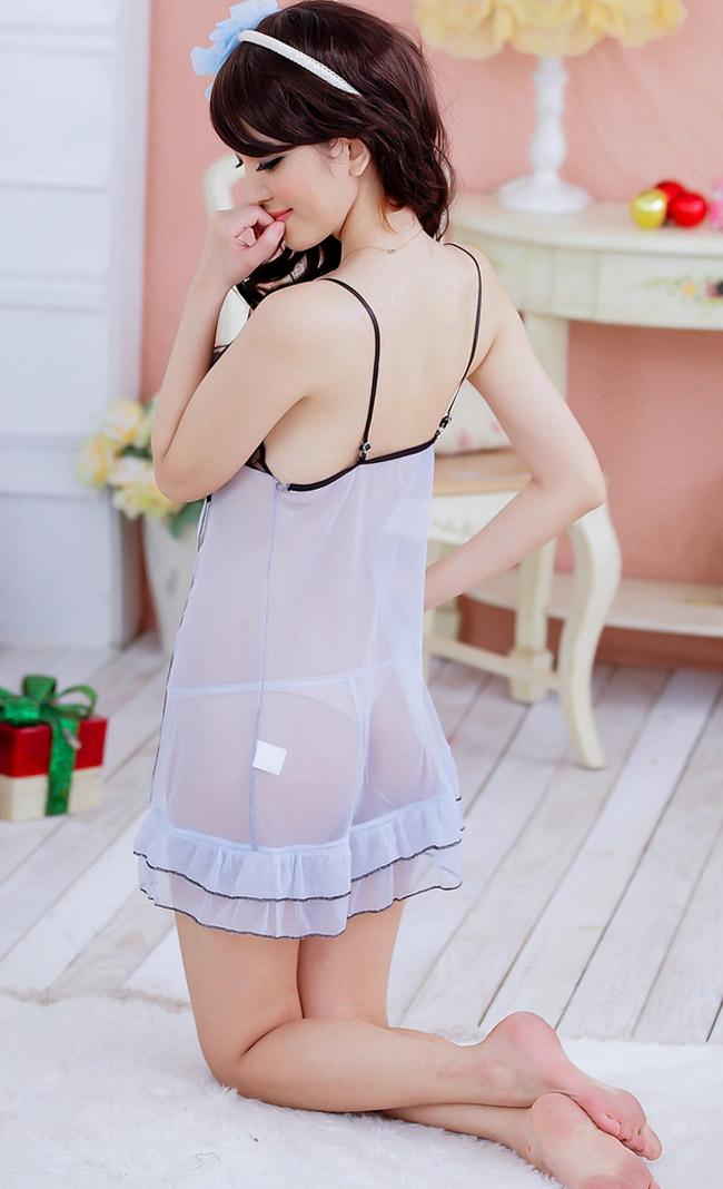 Váy Ngủ Giá Rẻ Ren Xẻ Tà